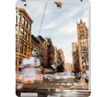 Motion of New York iPad Case/Skin