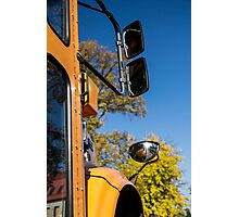 Yellow Bus/School Bus Photographic Print