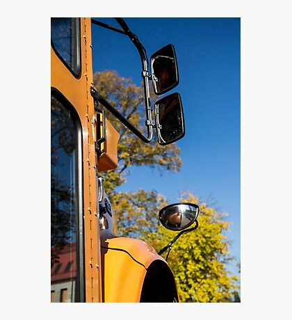 Yellow Bus/School Bus Photographic Print