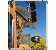 Yellow Bus/School Bus iPad Case/Skin