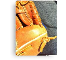 Ball Game Afternoon Canvas Print
