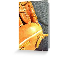 Ball Game Afternoon Greeting Card