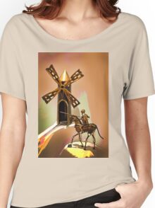 Don Quixote Tilting At Windmills Women's Relaxed Fit T-Shirt