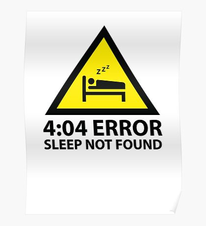 4:04 Error Sleep Not Found Poster