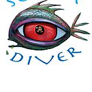 SCUBA Diver by Tom Godfrey