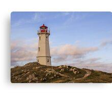 Louisbourg Lighthouse  Canvas Print