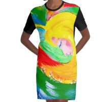 colors of tenderness Graphic T-Shirt Dress
