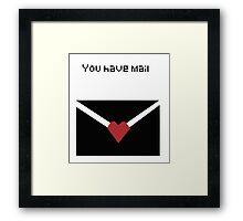 You Have Mail Framed Print
