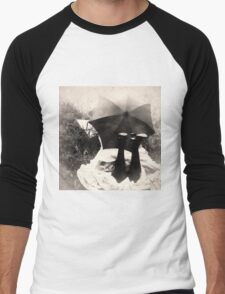 Umbrella Girl Men's Baseball ¾ T-Shirt