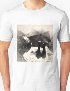 Umbrella Girl Unisex T-Shirt