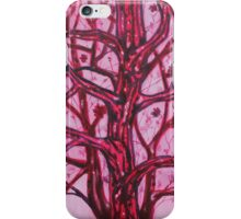 'RED TREE'  iPhone Case/Skin