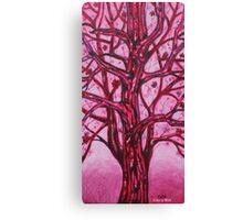 'RED TREE'  Canvas Print