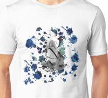 WHY ME? [Blue Splatter Girl] Unisex T-Shirt