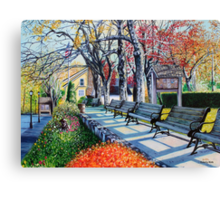 'MEMORIAL PARK, EARLY SPRING'  Canvas Print