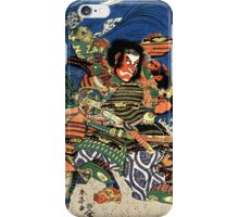 Two Samurai warriors in close combat iPhone Case/Skin