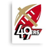 SF 49ers Canvas Print
