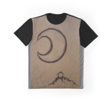 Moonlight Cabin Graphic T-Shirt