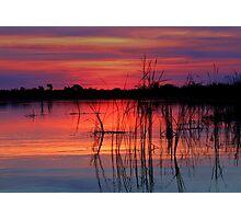 Sunset at Nxebega Photographic Print