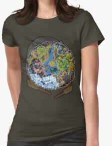 Island Of Angels Womens Fitted T-Shirt