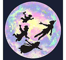 Never Grow Up Peter Pan Neverland Photographic Print