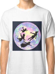 Never Grow Up Peter Pan Neverland Classic T-Shirt