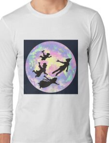 Never Grow Up Peter Pan Neverland Long Sleeve T-Shirt