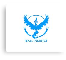 MYSTIC COLORED, INSTINCT NAMED, TEAM VALOR - NO TEXT Canvas Print