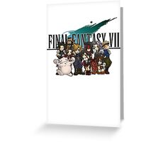 Final Fantasy Vll Greeting Card