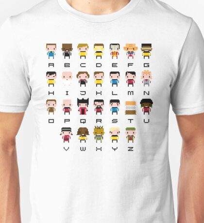 Star Trek Alphabet Unisex T-Shirt