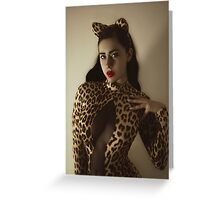 The Cat's Meow VI Greeting Card