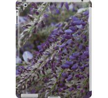 wisteria blooming iPad Case/Skin