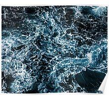 Dark Tempest Ocean Poster