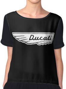 Ducati Wing Shirt Chiffon Top