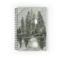 Night forest ~ Spiral Notebook