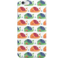 The Whale Pattern iPhone Case/Skin