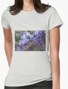 wisteria blooming Womens Fitted T-Shirt