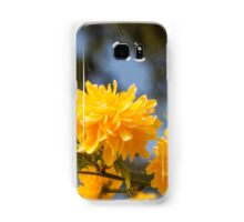 yellow flowers in spring Samsung Galaxy Case/Skin