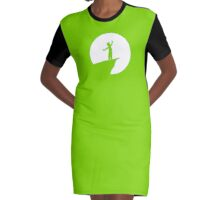 DREAM Graphic T-Shirt Dress
