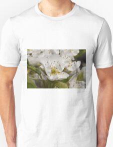 white flowers on trees Unisex T-Shirt