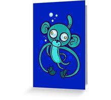 Sea Monkey Greeting Card