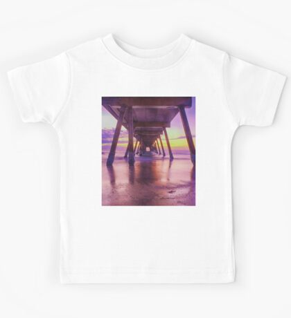 """Summers Early Colours"" Kids Tee"