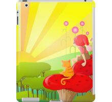 rising sun iPad Case/Skin