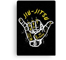 Jiu-jitsu. Go train! 2 Canvas Print