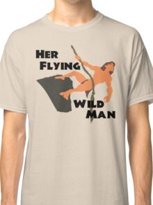 Disney's Tarzan - Her Flying WIld Man Couples Shirt for Him Classic T-Shirt