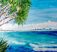 Burleigh Heads Views by gillsart