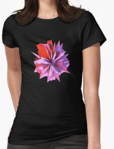 Crystaline Flora Womens Fitted T-Shirt