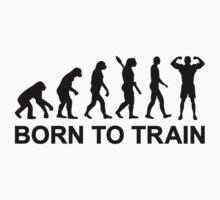 Evolution Bodybuilding born to train Kids Clothes