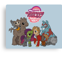 My little Guardians of the Galaxy Canvas Print