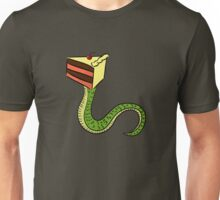 Scake Temptation : A cake and snake mutant Unisex T-Shirt