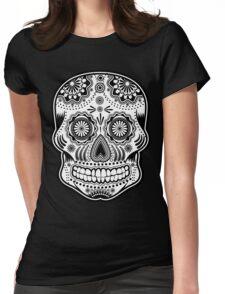 dia de los muertes Womens Fitted T-Shirt